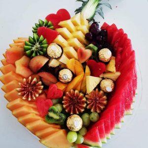 מגשי פירות מעוצבים